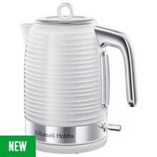 Russell Hobbs 24360 Inspire Kettle - White Best Price, Cheapest Prices