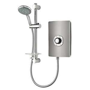 Triton Style Electric Shower - Gunmetal Effect 9.5kW Best Price, Cheapest Prices