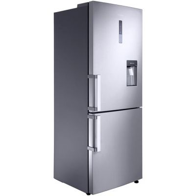 Samsung G-Series RL4362FBASL 70/30 Frost Free Fridge Freezer - Clean Steel - A+ Rated Best Price, Cheapest Prices