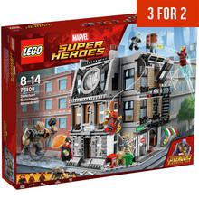 LEGO Marvel Infinity War Sanctum Sanctorum Showdown - 76108 Best Price, Cheapest Prices