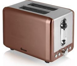 SWAN ST14040COPN 2-Slice Toaster - Copper Best Price, Cheapest Prices