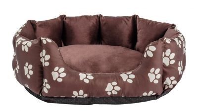 Paw Print Oval Pet Bed - Small Best Price, Cheapest Prices