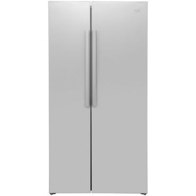 Beko RAS121LS American Fridge Freezer - Silver - A+ Rated Best Price, Cheapest Prices