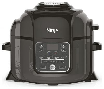 Ninja Foodi 6L Multi Pressure Cooker and Air Fryer - Black Best Price, Cheapest Prices