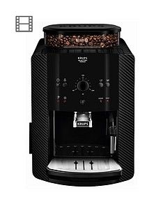 Krups Arabica Manual EA811K40 Automatic Espresso Machine - Carbon Best Price, Cheapest Prices