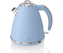 SWAN Retro SK19020BLN Jug Kettle - Blue Best Price, Cheapest Prices