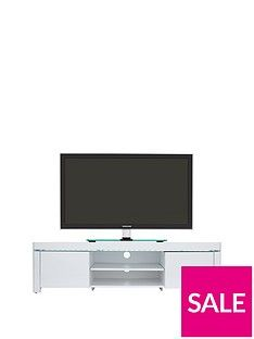 Atlantic Gloss TV Unit with LED Lights - fits up to 65 inch TV Best Price, Cheapest Prices