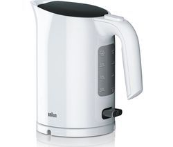 BRAUN Series 3 PurEase WK3110.WH Jug Kettle - White Best Price, Cheapest Prices