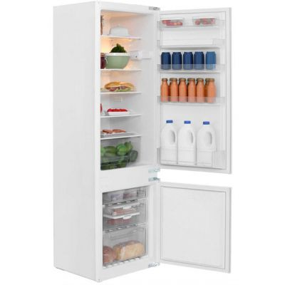 NEFF N30 K8524X8GB Integrated 70/30 Fridge Freezer with Sliding Door Fixing Kit - White - A+ Rated Best Price, Cheapest Prices