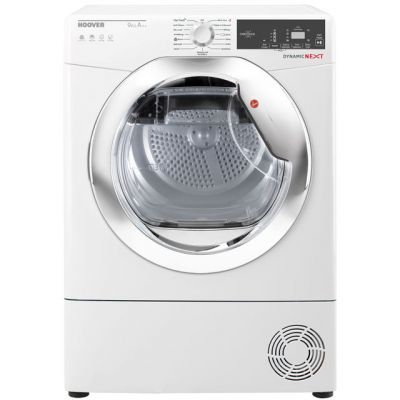 Hoover Dynamic Next Advance DXH9A2TCE 9Kg Heat Pump Tumble Dryer - White - A++ Rated Best Price, Cheapest Prices