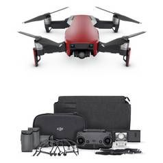 DJI Mavic Air Fly More Drone Combo - Flame Red Best Price, Cheapest Prices