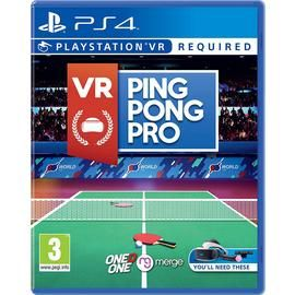 VR Ping Pong Pro PS VR Game (PS4) Best Price, Cheapest Prices