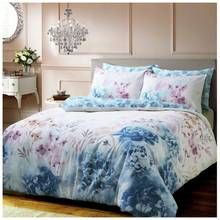 Pieridae Blue Bold Painted Floral Bedding Set - Double Best Price, Cheapest Prices