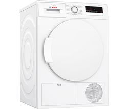 BOSCH WTN83200GB Condenser Tumble Dryer - White Best Price, Cheapest Prices