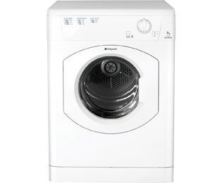 Hotpoint Aquarius TVM570P 7Kg Vented Tumble Dryer - White - C Rated Best Price, Cheapest Prices