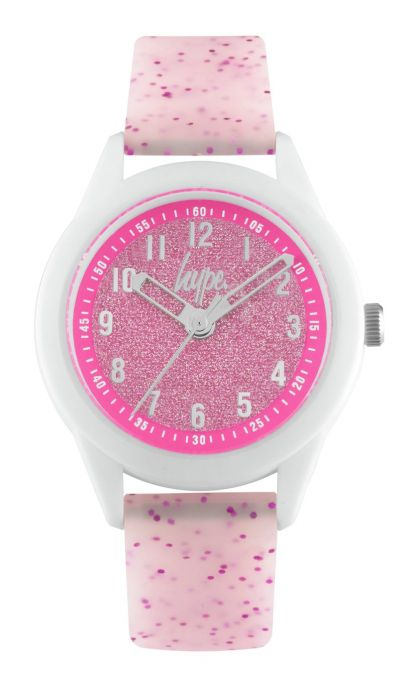 Hype Kids White and Pink Silicone Strap Watch Best Price, Cheapest Prices