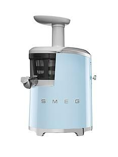 Smeg SJF01 Retro Style Slow Juicer - Pastel Blue Best Price, Cheapest Prices