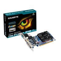1GB Gigabyte G 210, 1200MHz GDDR3, GPU 590MHz, Shader 1405MHz, 16 Cores, D-Sub/ Dual Link DVI-I/ HDMI, Low Profile Best Price, Cheapest Prices