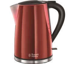 RUSSELL HOBBS Mode Illuminated 21401 Jug Kettle - Red Best Price, Cheapest Prices