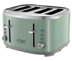RUSSELL HOBBS Bubble 24414 4-Slice Toaster - Green Best Price, Cheapest Prices
