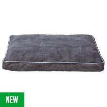 Grey Cord Pet Mattress - Large Best Price, Cheapest Prices