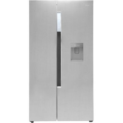 Haier HRF-522IG6 American Fridge Freezer - Silver - A+ Rated Best Price, Cheapest Prices