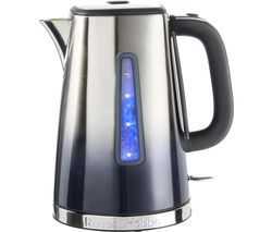 RUSSELL HOBBS Eclipse 25111 Jug Kettle - Midnight Blue Best Price, Cheapest Prices