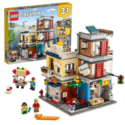 LEGO Creator Townhouse, Pet Shop and Cafe - 31097 Best Price, Cheapest Prices