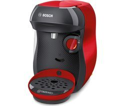 TASSIMO by Bosch Happy TAS1003GB Coffee Machine - Red Best Price, Cheapest Prices