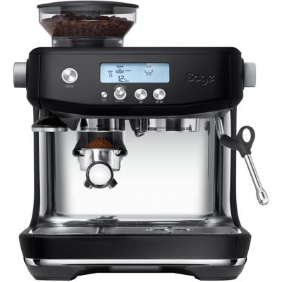 Sage The Barista Pro SES878BTR Espresso Coffee Machine with Integrated Burr Grinder - Black Truffle Best Price, Cheapest Prices