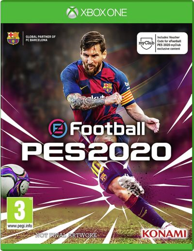 PES 2020 Xbox One Game Best Price, Cheapest Prices