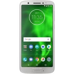 SIM Free Motorola Moto G6 Mobile Phone - Silver Best Price, Cheapest Prices