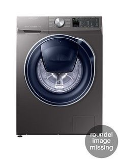 Samsung Ww90M645Opo/Eu 9Kg Load, 1400 Spin Quickdrive&Trade; Washing Machine With Addwash&Trade; - Grey/Graphite Best Price, Cheapest Prices