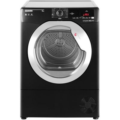 Hoover Dynamic Next Advance DXC9TCGB 9Kg Condenser Tumble Dryer - Black - B Rated Best Price, Cheapest Prices