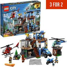 LEGO City Police Mountain Headquarter Toy Helicopter - 60174 Best Price, Cheapest Prices