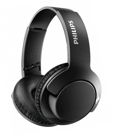Philips SHB3175BK Over-Ear Wireless Headphones - Black Best Price, Cheapest Prices