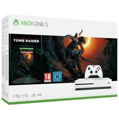 Xbox One S 1TB Shadow of the Tomb Raider Console Bundle Best Price, Cheapest Prices