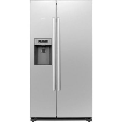 NEFF N50 KA3902I20G American Fridge Freezer - Stainless Steel - A+ Rated Best Price, Cheapest Prices