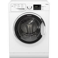 Hotpoint RSG845JX Freestanding Washing Machine in White Best Price, Cheapest Prices
