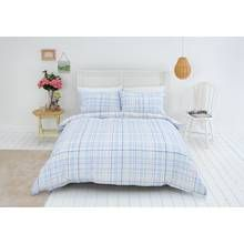 Sainsbury's Home Meadow Check Bedding Set - Double Best Price, Cheapest Prices