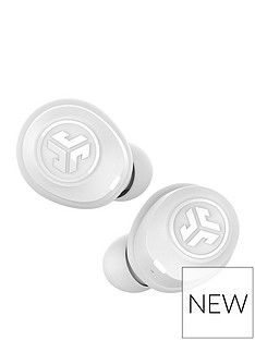 JLab JBUDS Air True Wireless Bluetooth Earbuds with Voice Assistant Compatibility and Charging Case - White Best Price, Cheapest Prices