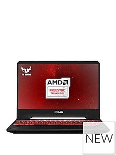 Asus ASUS TUF Gaming FX505DY-BQ008T AMD Ryzen 5 8GB RAM 1TB SSHD (8GB) 15.6in PC Gaming Laptop AMD 4GB Dedicated Graphics RX560 4GB Black Best Price, Cheapest Prices
