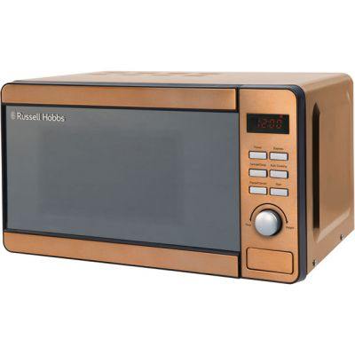 Russell Hobbs RHMD804CP 17 Litre Microwave - Copper Best Price, Cheapest Prices