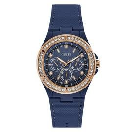 Guess Ladies Blue Silicone Strap Watch Best Price, Cheapest Prices