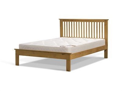 Snuggle Beds Ashurst Oak 5 King Size Low Foot End Wooden Bed