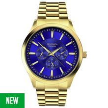 Sekonda Men's Gold Plated Stainless Steel Bracelet Watch Best Price, Cheapest Prices