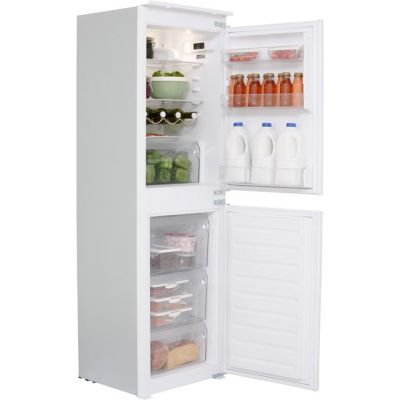 Hotpoint Day 1 HMCB50501AA Integrated 50/50 Fridge Freezer with Sliding Door Fixing Kit - White - A+ Rated Best Price, Cheapest Prices