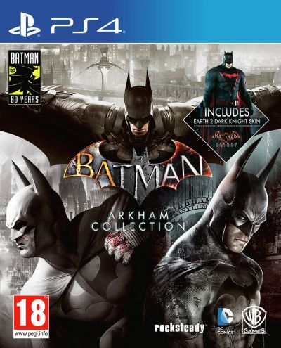Batman Arkham Collection Steelbook Edition PS4 Game Best Price, Cheapest Prices