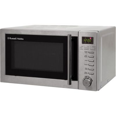 Russell Hobbs RHM2031 20 Litre Microwave With Grill - Stainless Steel Best Price, Cheapest Prices