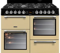 LEISURE Cookmaster CK100G232C 100 cm Gas Range Cooker - Cream & Chrome Best Price, Cheapest Prices